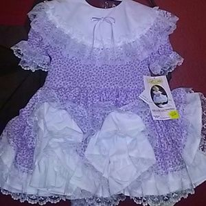 Other - 2t girls dress toddler antique ruffles lace